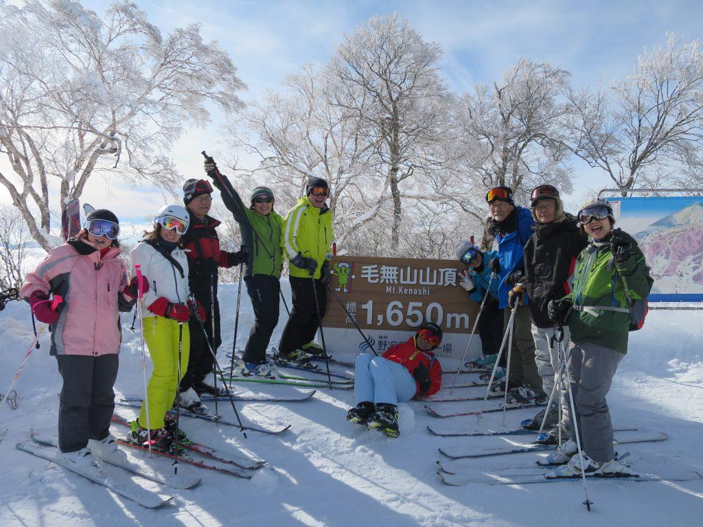 《個人山行報告》2020年1月17日(金)~19日(日) 野沢温泉スキー