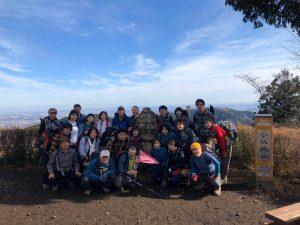 《40周年記念山行&祝う忘年会》2019年12月15日(日)城山~高尾山