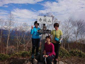 《個人山行報告》2019年10月20日(日)赤城山(鳥甲山残念登山)