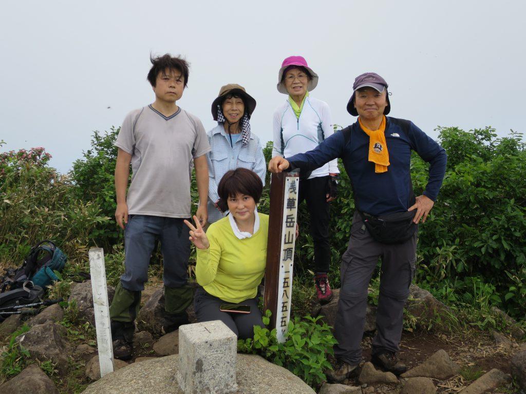 《個人山行報告》2020年6月27日(土)~28日(日) 浅草岳 ―新潟―